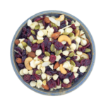 bowl of trail-mix