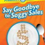 Cereal box Say goodbye to soggy sales
