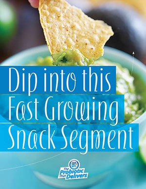 Dip into this fast growing snack segment