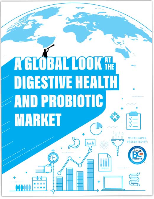 A global look at the digestive health and probiotic market