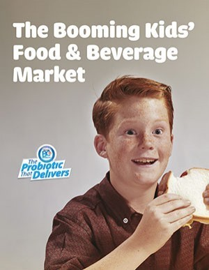 The booming kids food and beverage market