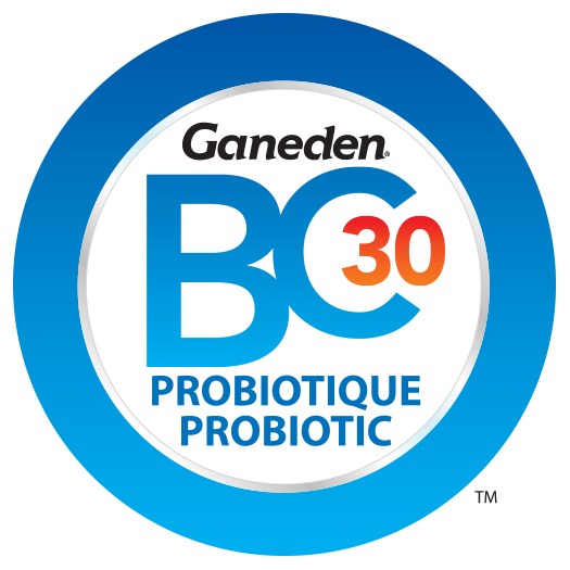 Logo for Canada in French and English - GanedenBC30 Probiotic